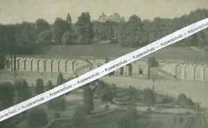 Coburg - Schlossplatz mit Arkaden - um 1920                        W 15-17