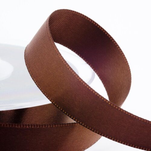 Full Reel Satin Ribbon Double Faced Oeko-Tex Standard 100 Approved 25m//50m