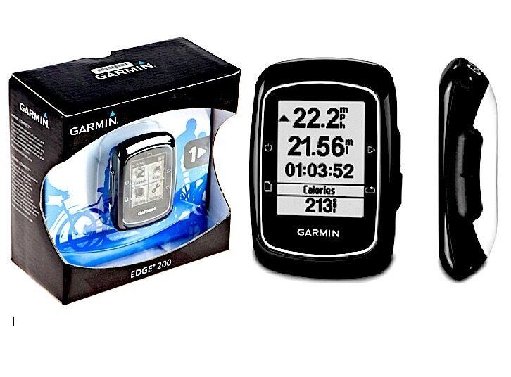 Garmin GPS EDGE 200 Wireless Ciclo Bicicletta Computer Navigator  NUOVO  0100097801