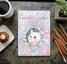 Jetoy Coloring Books Schedule Note Diary for Adult Relaxation DIY Stationery