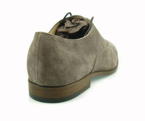 £450 TOD/'S  MEN/'s SHOES OXFORD LACE UP LEATHER suede LUXURY 100/%AUTENTICH MG1