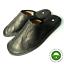 Luxury-Men-039-s-Slippers-REAL-LEATHER-CALFSKIN-Black thumbnail 1