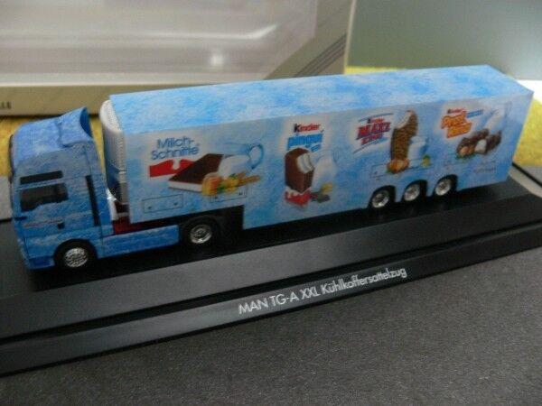 1 87 Herpa  120296 homme TGA XXL FRIDGE SUITCASE-SZ Schober transport Ferrero Kinder  nouveau style