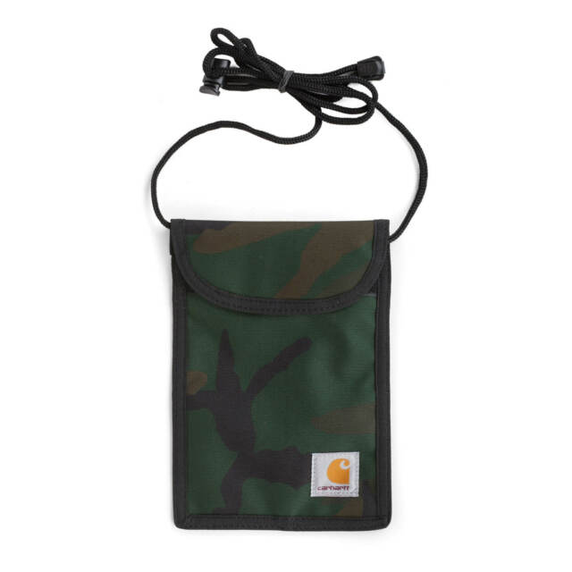 Carhartt Wip Collins Cou Paquet Camouflage Vert Sac A Bandouliere