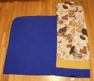 Puppies-Dog-Nap-Mat-Kidnapper-w-Built-In-Pillow-amp-Blanket-Preschool-Mat