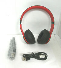 Beats By Dr Dre Beats Solo3 Mrqc2ll A Wireless On Ear Headphones Decade Collection Black Red For Sale Online Ebay