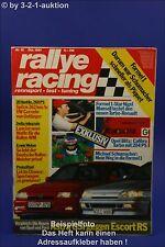 Rallye Racing 10/91 Opel Calibra turbo Ford Escort RS
