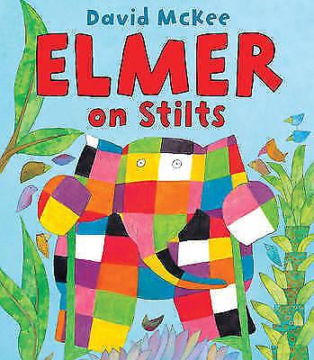 1 of 1 - McKee, David, Elmer on Stilts, Very Good Book