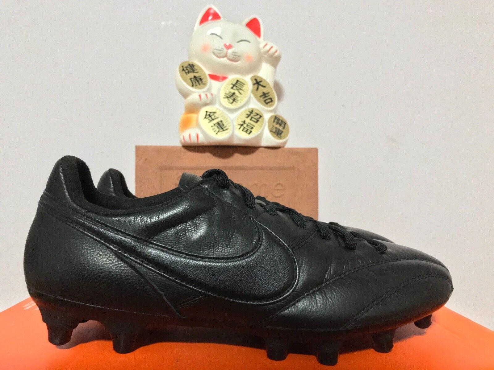 Nike tacos de fútbol de la Premier Triple Mujer Negro New Hombre 4.5 Mujer Triple 6 Reducción de precio a1b44a