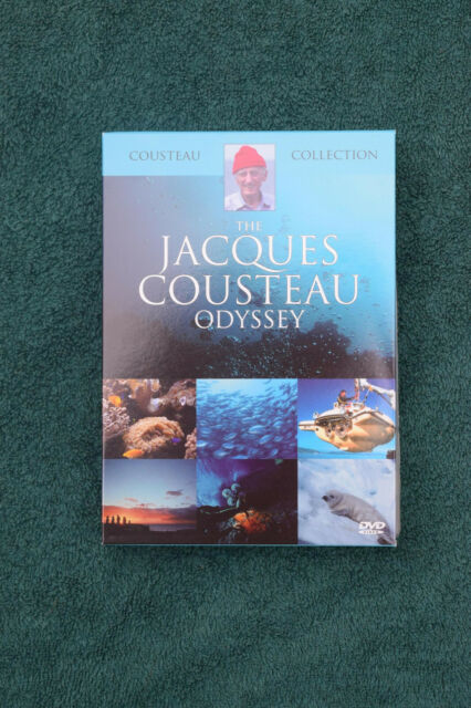 The Jacques Cousteau Odyssey - 3-Disc DVD Box Set