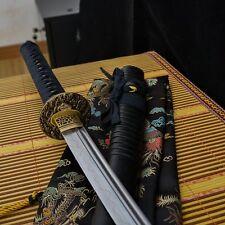 hand forged t10 steel kogarasu maru blade japanese Katana samurai real sword
