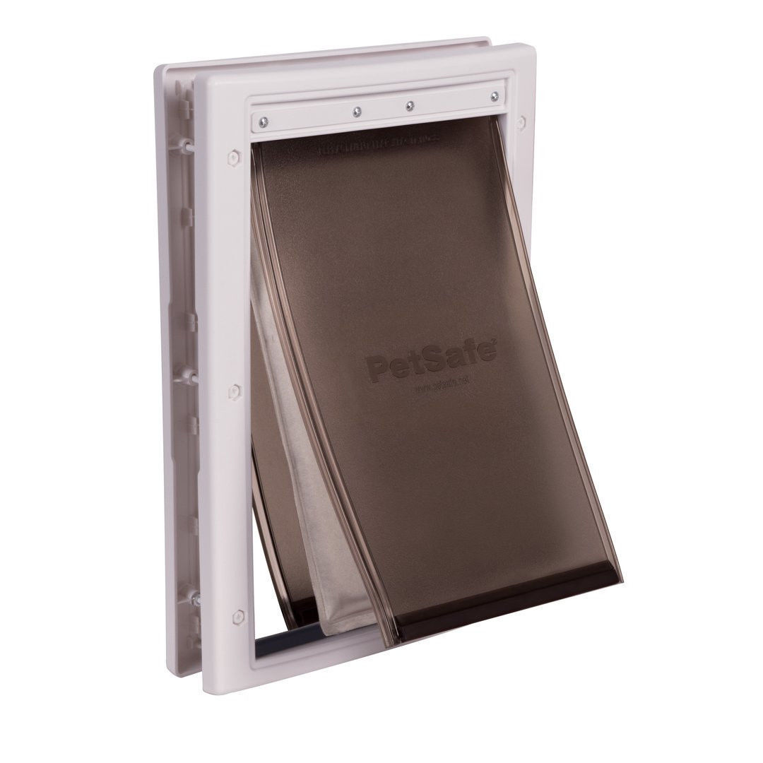 PetSafe Extreme Easy Easy Easy Install Weather Pet Door 3 Flap System -Small Medium Large 67d5bd