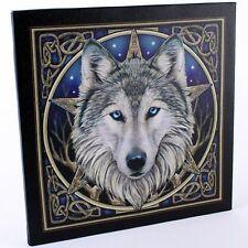 Canvas Wall Plaque ~ Celtic Wolf Head ~ Lisa Parker ~ Stunning ~BNIP~Ideal Gift