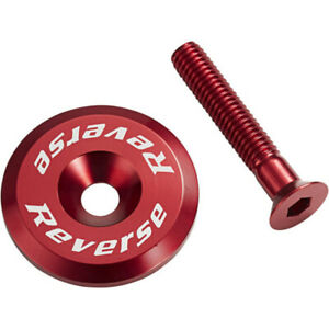 Reverse Ahead Cap with Screw Red