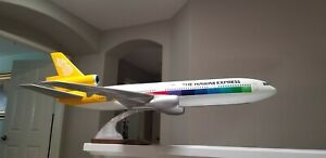 Pacmin Mc Donnell Douglas DC 1O LARGE Travel Agent Model Airplane , 1/50th scale
