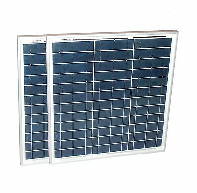 Solarset 60 Watt + 12V Solarladeregler 10A poly Photovoltaik Solarmodul