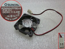 1 PC SUNON KD0504PFB3-8 DC 5V 0.4W Fan 40*40*10mm 2 Pin #K1652