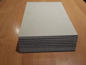 Pappe Karton Graupappe A4 10 St.grau/grau 0,7 mm