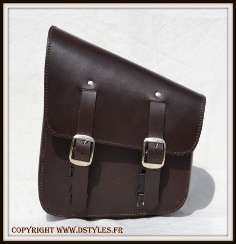 Motorcycle leather bag for pour Softail Fatboy breakout Wildstar VN Dragstar Int