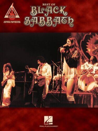Best of Black Sabbath Sheet Music Guitar Tablature Book NEW 000690901