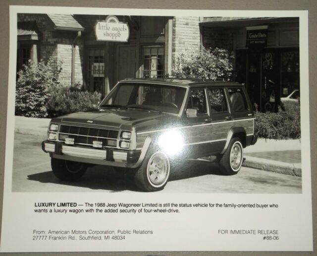 1988 88 Jeep Comanche  Pickups original brochure