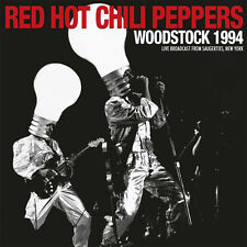 RED HOT CHILI PEPPERS New 2017 WOODSTOCK '96 LIVE CONCERT 2 VINYL RECORD SET