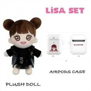 LISA-BLACKPINK-YG-OFFICIAL-GOODS-PLUSH-DOLL-AIRPODS-CASE-EXPRESS-SHIPPING