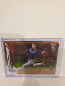 WILLY-ADAMES-2020-TOPPS-CHROME-BEN-BALLER-1-50-GOLD-SP-TAMPA-BAY-RAYS