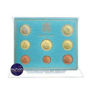 Set-BU-VATICAN-2019-Serie-1-cent-a-2-euros-Brillant-universel-60-000-ex