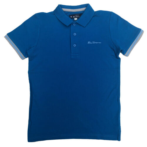 Ben Sherman Boys Polo Shirt T-Shirt Ages 7 Years up to 15 Years