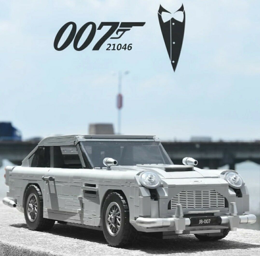 007  ASTON MARTIN DB5   10262  100% LEGO  Compatibile  1450 pezzi  NUOVO