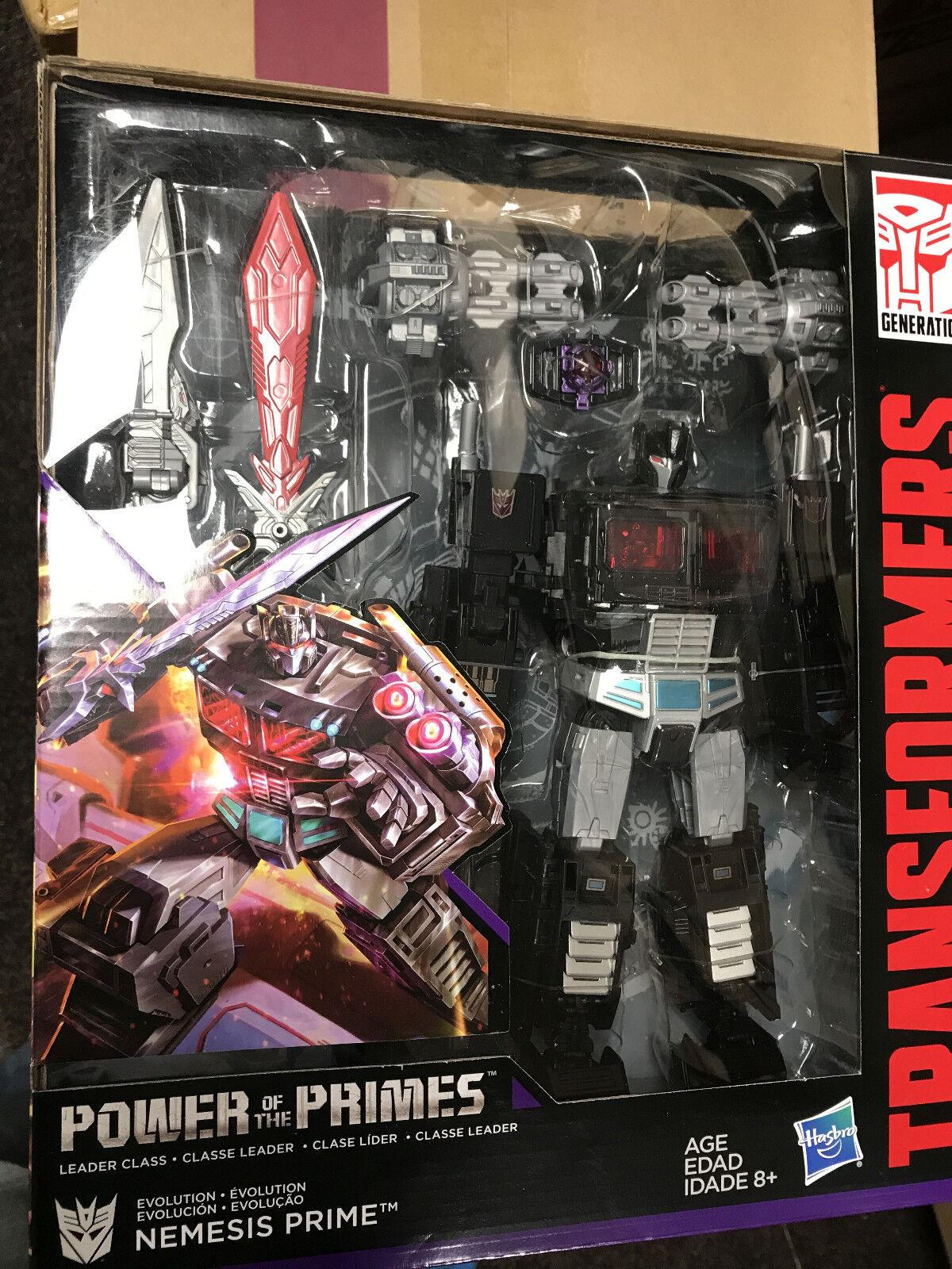 Transformers Power of the Primes Exclusive Leader Nemesis Prime  nouveau  vente d'usine en ligne discount