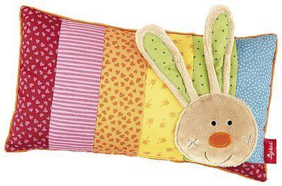 Baby Amicable Sigikid 40991 Kissen Hase Rainbow Rabbit Schmusekissen Kopfkissen Neu & Ovp Nursery Bedding