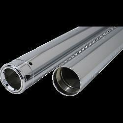 "Custom Cycle Show Chrome Fork Tubes 41mm 26.25/"" T2003"