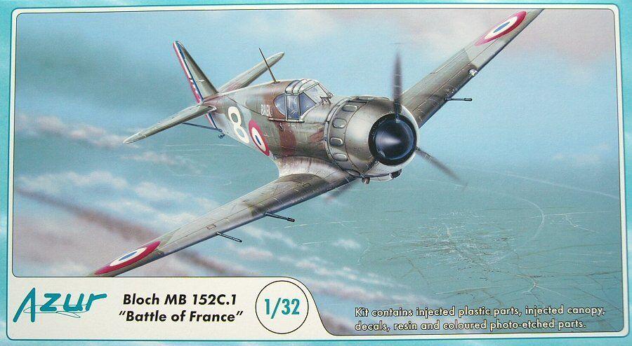 AZUR 1/32 Bloch MB 152c.1 BATTAGLIA DELLE Francia  A060