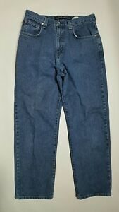 JNCO-33-X-31-Vintage-Blue-Denim-Men-039-s-Jeans-USA-Made-Tag-Size-33-X-32