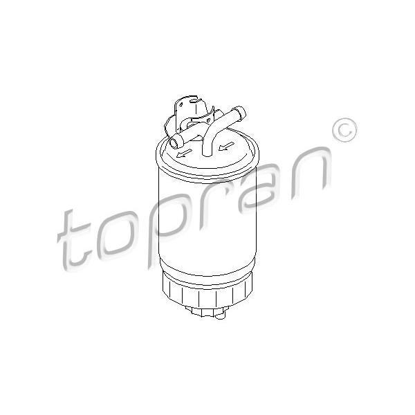 Kraftstofffilter - Topran 102 732