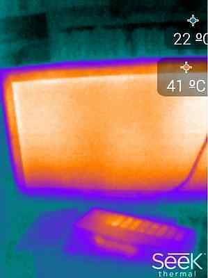 Wärmebildkamera  Infrarotkamera Thermokamera Thermografie Seek Thermal Imager