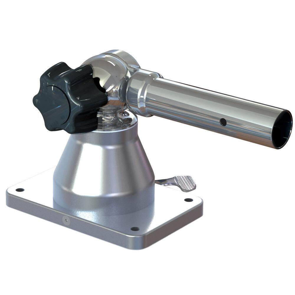 Taco métaux TACO Grand Slam GS-170-2 Outrigger Center mount 1-1 8  Diamètre Extérieur Ensemble De 1