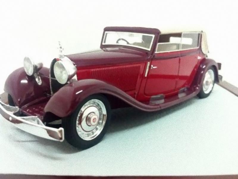 CHROMES 048 - Bugatti T46S Reinboldt & Christie Cabriolet 46525  1929 1/43