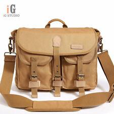 CADEN F12 Waterproof canvas bag SLR camera bag Universal shoulder bag for C/N