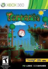 Xbox 360 Terraria Adventure NEW Sealed REGION FREE USA Game plays on all console