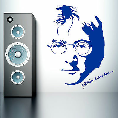 JOHN LENNON Vinyl Wall Art Sticker Decal