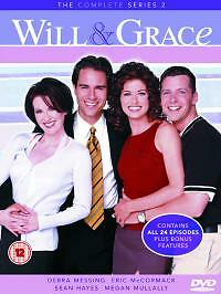 1 of 1 - Will and Grace: The Complete Series 2 DVD (2004) Eric McCormack