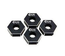GDS Racing Extend Wheels Hex Hubs Black for Traxxas X-MAXX 1/5 RC Truck (4pc)
