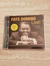 The Legends of New Orleans: Fats Domino Live! by Fats Domino (CD, Apr-2003, Shout! Factory)