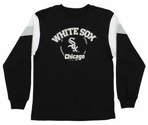 Cheap Price Outerstuff Mlb Youth Chicago White Sox Home Run Long Sleeve Tee Agreeable Sweetness Boys' Clothing (sizes 4 & Up)