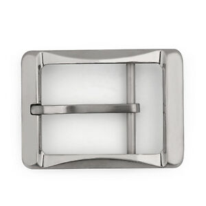 Image is loading Titanium-Ti-Belt-Buckle-Belt-Fastener-Brushed-Finish- 86a4ca92024
