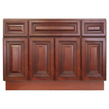 48 Bathroom Vanity Sink Base Cabinet Maple Cherryville By Lesscare