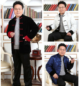 Men New Arrival Suits Chinese Traditional Kung-Fu Jacket Trousers S M L XL 2XL 3